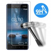 Protetor Ecrã em Vidro Temperado para Nokia 8 - 0.3mm