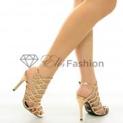 Sandale Prom Night Rose Gold #7108