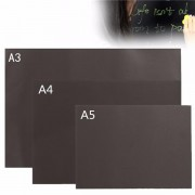 A3 A4 A5 Chalkboard Blackboard Magnetic Handpainted Personalised Memo Wall Sticker
