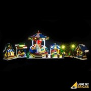 LIGHT MY BRICKS Kit for 10235 Winter Village Market