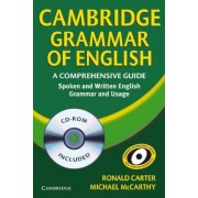 Cambridge Grammar of English: A Comprehensive Guide: Spoken and Written English Grammar and Usage [With CDROM], Paperback