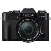 Fujifilm Systemkamera Fujifilm X-T20 XC16-50 mm + XC50-230 mm II 24.3 Megapixel Svart 4K-video, Full HD Video, Elektronisk sökare, WiFi