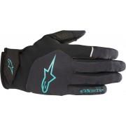 Alpinestars Cascade Tech Vodotěsný jízdní rukavice XS Černá Modrá
