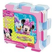 Puzzle din spuma Minnie, 8 piese