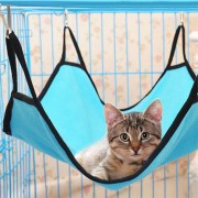 Pet Cat Dog Hammock Soft Bed Animal Hanging Pupply Comforter Ferret Cage House