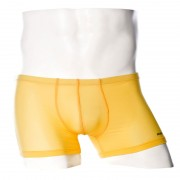 Private Structure Color Peel Trunk Boxer Brief Underwear Yellow 99-MU-1798