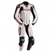 Ixon Zenith En bit läder kostym Svart Vit Röd 56