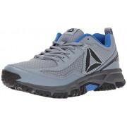 Reebok Men's Ridgerider 2. 0 Trail Runner, Asteroid Dust/Vital Blue/Ash Grey/Black/Silver/Pewter, 8 M US