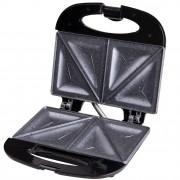 Тостер за сандвичи с мраморно покритие SAPIR SP 1442 AFM, 800W, Триъгълни плочи, Черен