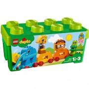 LEGO DUPLO Prima Mea Cutie de Caramizi cu Animale 10863