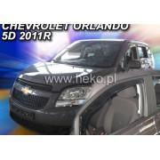 Paravanturi Geam Auto CHEVROLET ORLANDO ( Marca Heko - set FATA )