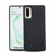 6000mAh External Battery Backup Charger Case with Kickstand for Samsung Galaxy Note 10 Plus/Note 10 Plus 5G - Black