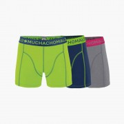 Muchachomalo Boxershorts 3 pack MEN SHORT SOLID/SOLID/SOLID-M