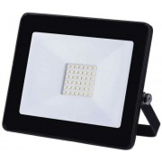 Proiector LED Slim, 30W, IP65, negru, 25000 ore, 6500 K, rece