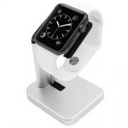 Macally Apple Watch Stand - луксозна алуминиева поставка за Apple Watch (сребриста)