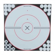 "Birchwood Casey Shoot-N-C White/Black Targets - Shoot-N-C 12"""" Bulls-Eye Target (5 Pack)"