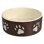 Trixie керамична купичка за храна или за вода, за кучета и за котки - 800 мл, Ø 16 см