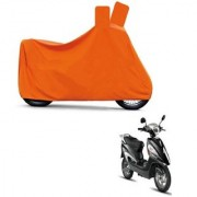 Kaaz Full Orange Two Wheeler Cover For Electric Maxi