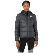 Nike Nike Sportswear Windrunner Down Fill Jacket Reversible BlackWhiteWhite