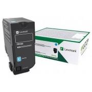 Lexmark LEXMARK CS/CX 727 CS728 Cyan Return Program Toner Cartridge