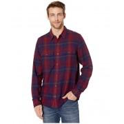 ToadCo Indigo Flannel Slim Long Sleeve Shirt Port