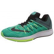 Nike Men's Flyknit Trainer Florescent Green and Black Running Shoes - 7.5 UK/India (42 EU)(8.5 US)(532984-017)