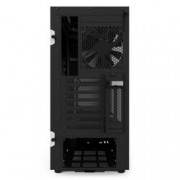 NZXT GAMING CASE H500i MID TOWER + CTRL LUCI E VENTOLE NERO/ROSSO CA-H500W-