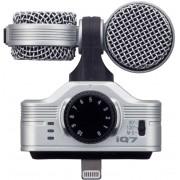 ZOOM Gravador iQ7 - Microfone estéreo Mid-Side para iOS(New)