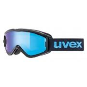 Ochelari ski / snowboard Uvex Speedy Pro Take Off Junior negri / albastri