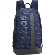 Adidas Blauwe rugzak adidas maat