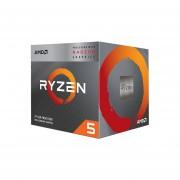 Procesador AMD Ryzen 5 3400G, 3.7 GHz hasta 4.2 GHz con gráficos
