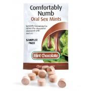 Pastilles Désensibilisantes Sexe Oral Menthe Chocolat