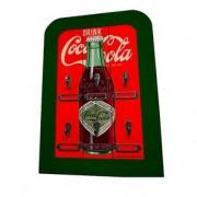 Porta Chaves de Madeira Coca Cola Drink