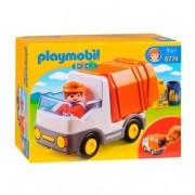 Playmobil 1.2.3 - Camión de Basura - 6774