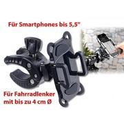 Support vélo pour smartphones jusqu'à 5,5