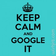 T-shirt Keep Calm and Google It