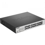 D-Link DGS-1100-24P - Гигабитов Smart управляем PoE суич