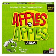Mattel Apples to Apples Junior - The Game of Crazy Comparisons