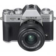 Fujifilm X-T20 24MP WiFi Plata + Objetivo XC 15-45mm F3.5-5.6 OIS PZ