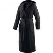 JOOP! Albornoces Mujer Albornoz con capucha negro Talla 32/36, largo 120 cm 1 Stk.