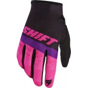 Shift WHIT3 Air Motocross guantes Negro Rosa L