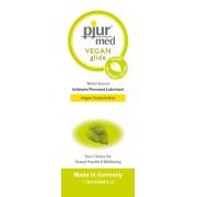 Lubrificante ad acqua Pjur Med Vegan Glide 2ml