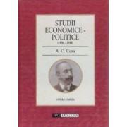 Studii economice-politice 1890-1930 - A.C. Cuza