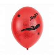 6 baloane Spiderman - 27.5 cm