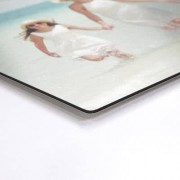 smartphoto Aluminiumtavla med borstad yta 120 x 80 cm