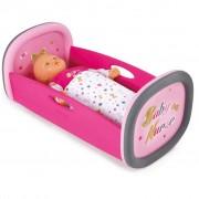 Smoby Baby Nurse Rocking Crib 29x52x26 cm 220313