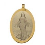 Pingente de Ouro com foto gravada / Fotogravação 23.4mm x 17.8mm