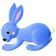 Joc Iepurasul Hoppy Floppy si morcovii, 16 morcovi in 4 culori diferite, 4 cosulete