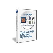 TurboCAD 3D Kitchen Symbols Pack English