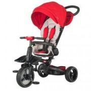 Tricicleta multifunctionala si pliabila Coccolle Alto Red